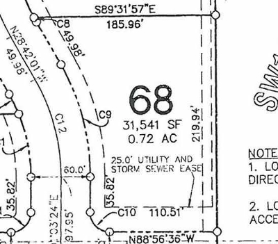 North Liberty Residential Lots & Land For Sale: Lot 68 Corridor Commercial