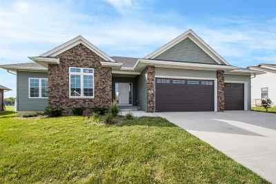 Iowa City IA Single Family Home For Sale: $424,900