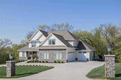 Iowa City IA Single Family Home For Sale: $1,195,000