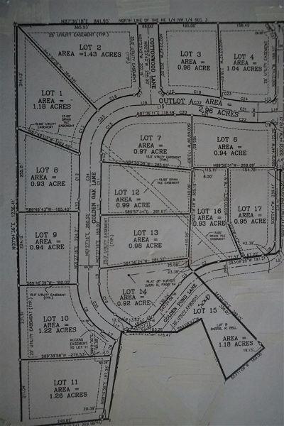 Louisa County Residential Lots & Land For Sale: 25832 Golden Oak Ln