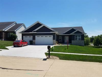 Cedar Rapids IA Single Family Home New: $379,900