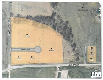 Cedar County Residential Lots & Land For Sale: NE Corner Of Main & Johnson Cedar Rd