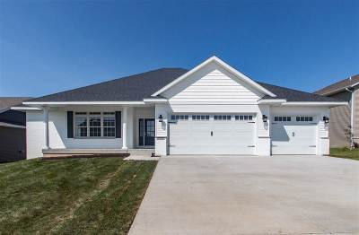 Iowa City IA Single Family Home Contingent: $488,000