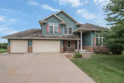 Iowa City IA Single Family Home For Sale: $485,000