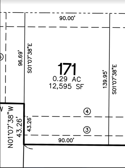 North Liberty Residential Lots & Land For Sale: Lot 171 Harvest Estates Ii Part 5