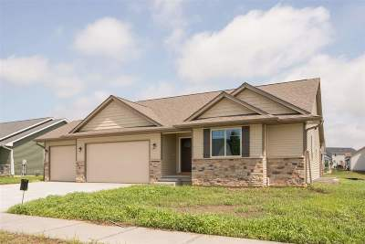 North Liberty IA Single Family Home New: $326,900