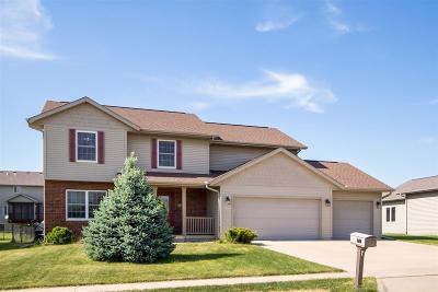 Iowa City Single Family Home For Sale: 3412 Ireland Dr.