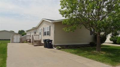 Iowa City Single Family Home Reduced Price: 335 Palomino Ct