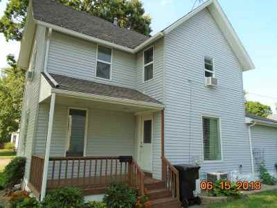 Tipton Single Family Home For Sale: 610 Meridian St