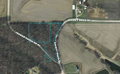 Solon Residential Lots & Land For Sale: Lot B & C Quincy Rd/Jordan Creek Rd