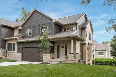 Iowa City Condo/Townhouse For Sale: 624 Bayard St
