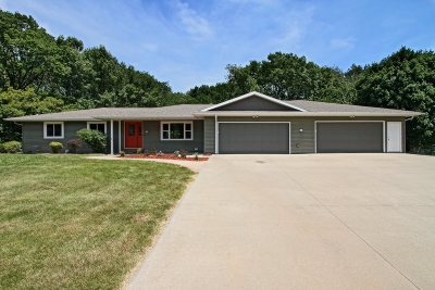 Iowa City IA Single Family Home For Sale: $565,000