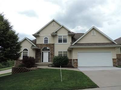 Iowa City IA Single Family Home New: $355,000