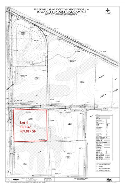 Iowa City Residential Lots & Land For Sale: 4748 420th St, Lot 4
