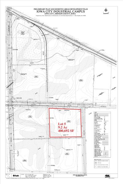Iowa City Residential Lots & Land For Sale: 4748 420th St, Lot 5