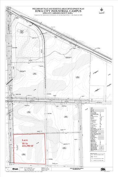 Iowa City Residential Lots & Land For Sale: 4748 420th St, Lot 6