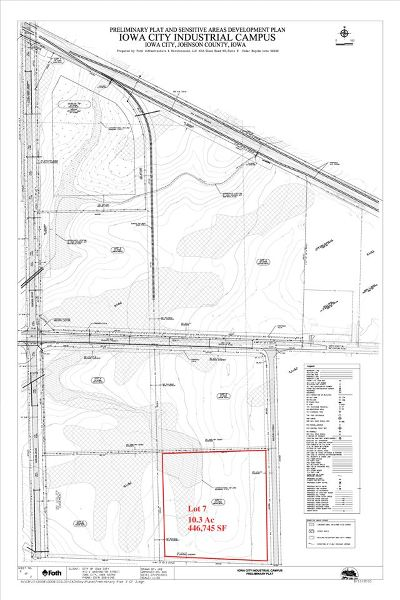 Iowa City Residential Lots & Land For Sale: 4748 420th St, Lot 7