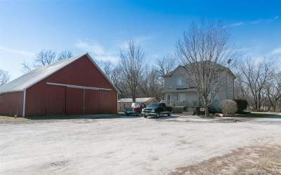 Iowa City Single Family Home For Sale: 4591 Sand Rd