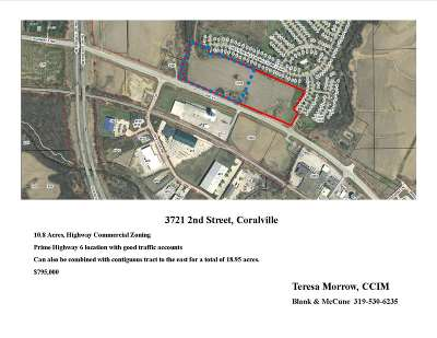 Coralville Residential Lots & Land For Sale: 3721 2nd St