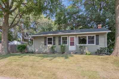 Iowa City IA Single Family Home New: $155,000