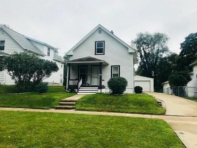 Cedar Rapids IA Single Family Home New: $120,000