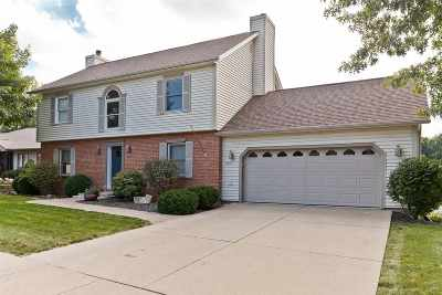 Coralville Single Family Home For Sale: 1806 Brown Deer Trail