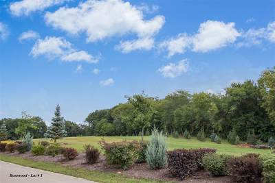 North Liberty Residential Lots & Land For Sale: Rosewood Lot # 1