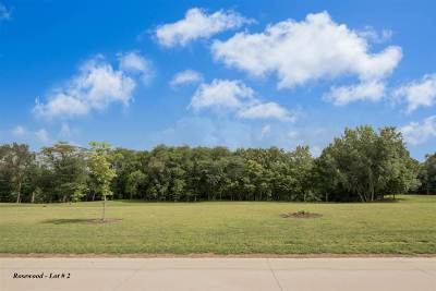 North Liberty Residential Lots & Land For Sale: Rosewood Lot # 2