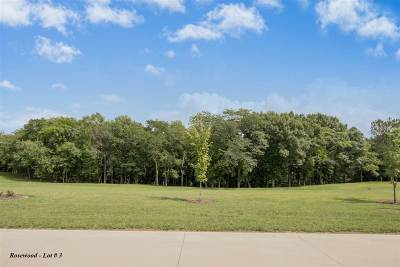 North Liberty Residential Lots & Land For Sale: Rosewood Lot # 3
