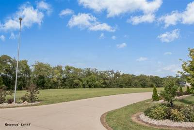 North Liberty Residential Lots & Land For Sale: Rosewood Lot # 5