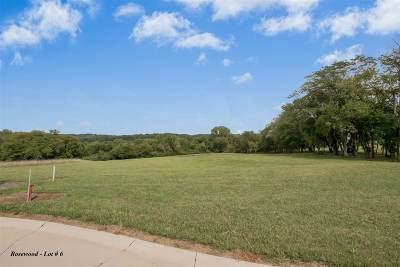 North Liberty Residential Lots & Land For Sale: Rosewood Lot # 6
