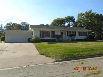 Tipton Single Family Home For Sale: 1003 Mulberry St