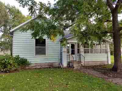 Keota IA Single Family Home For Sale: $45,000