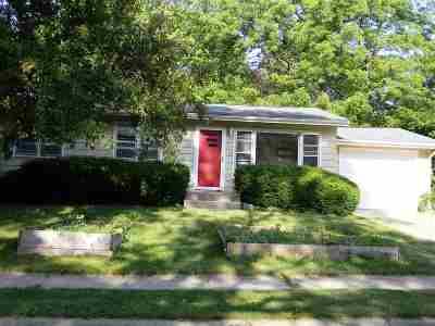 Iowa City Single Family Home For Sale: 1122 Pine St