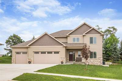 Coralville Single Family Home New: 2929 Diamond Mil Circle