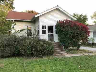 Iowa City IA Single Family Home Contingent: $100,000