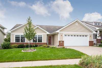 Iowa City Single Family Home New: 132 Eversull Ln