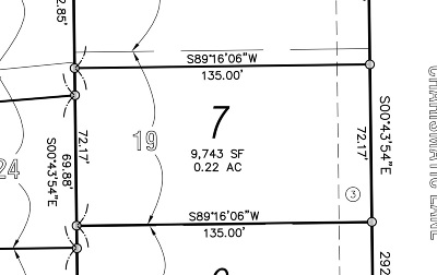 Iowa City Residential Lots & Land For Sale: Lot 7 Churchill Meadows Part 4