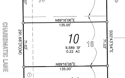 Iowa City Residential Lots & Land For Sale: Lot 10 Churchill Meadows Part 4