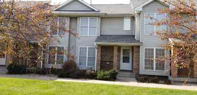 Iowa City Condo/Townhouse For Sale: 708 West Side Dr