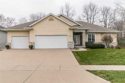 Iowa City IA Single Family Home For Sale: $537,000