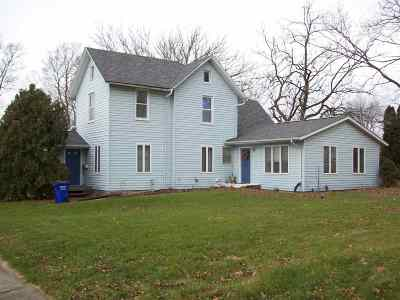 Ainsworth IA Single Family Home For Sale: $114,500