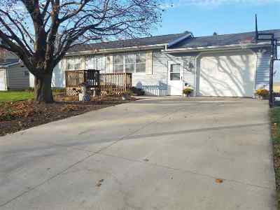 Tipton Single Family Home For Sale: 608 Crestview Dr