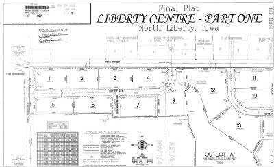North Liberty Residential Lots & Land For Sale: Lot 6 Liberty Centre