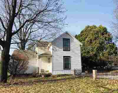 West Branch Single Family Home New: 332 N 4th