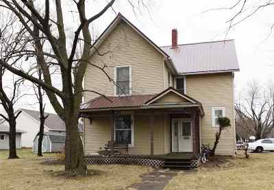 Washington IA Single Family Home For Sale: $89,000