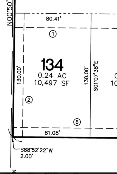North Liberty Residential Lots & Land For Sale: Lot 134 Harvest Estates Ii Part 5