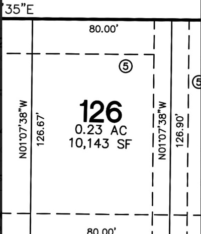 North Liberty Residential Lots & Land For Sale: Lot 126 Harvest Estates Ii Part 5