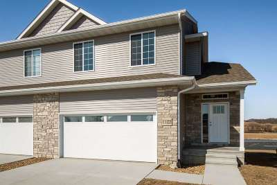 North Liberty Condo/Townhouse New: 1122 Mary Ln
