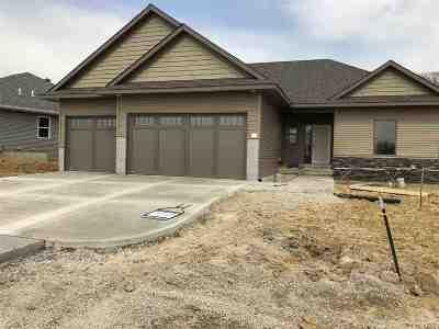 Iowa City Single Family Home New: 4886 Preston Lane